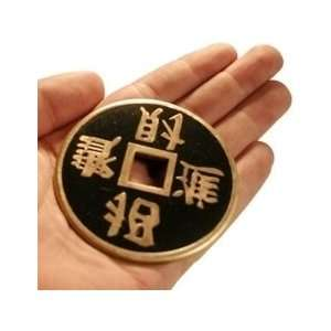 Chinese Coin   Jumbo Sasco  Money Magic Trick Acce Toys