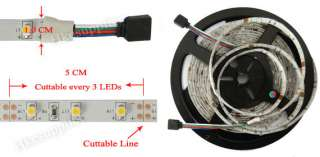 5M 5050 RGB SMD Flexible LED Strip Light 60Leds/M