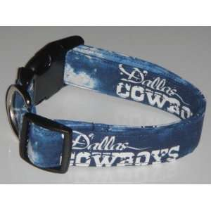 NFL Dallas Cowboys Football Dog Collar Medium 1