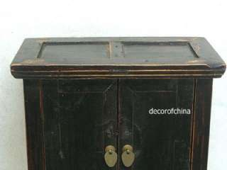 Chinese Antique Small Wooden Side Table Chest SE03 04