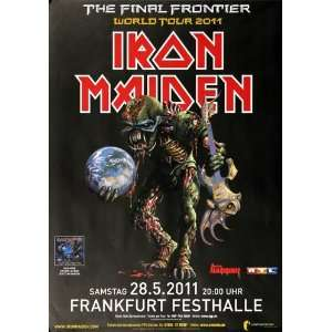 Iron Maiden   The Last Frontier 2011   CONCERT   POSTER