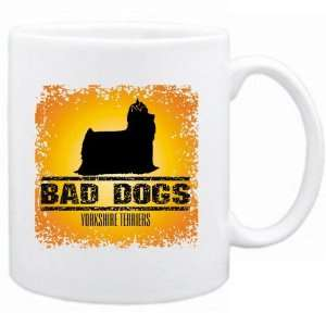 New  Bad Dogs Yorkshire Terriers  Mug Dog