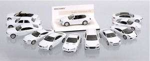 MERCEDES BENZ CLS CLASS 2005 White Line Collection by Minichamps
