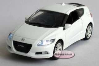 Honda CR Z Alloy Diecast Model Car With Sound&Light White B220a