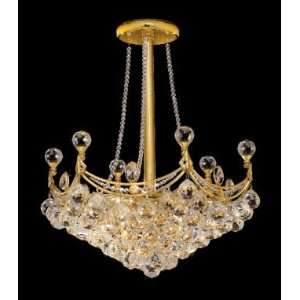 9801D20G Elegant Lighting Corona Collection lighting
