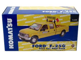 model of Ford F 250 Crew Cab Pilot Truck die cast car by First Gear