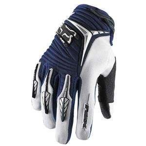 Fox Racing Blitz Gloves   Large/Navy Automotive