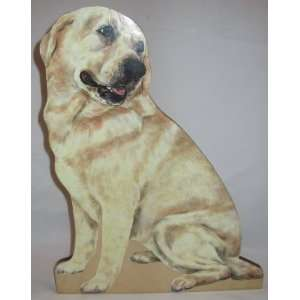 Yellow Lab Dog Cutout by D. W. Possum Designs