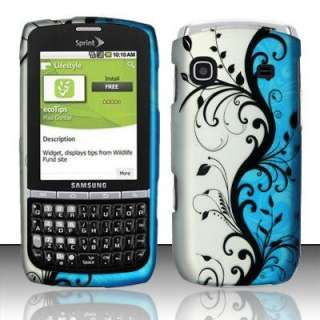 Blue Vine Skin for Sprint Samsung Replenish M580 Phone Cover Case