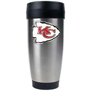 Kansas City Chiefs NFL 16oz Stainless Steel Travel Tumbler
