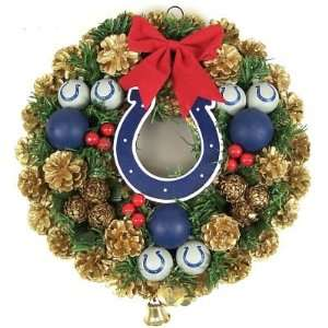 COLTS OFFICIAL 14 CHRISTMAS DOOR WREATH