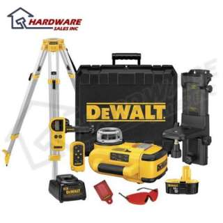 DEWALT DW079KD 18V Self Leveling Rotary Laser Kit NEW