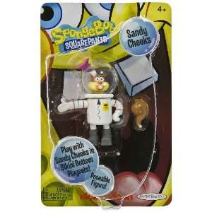 Sandy Cheeks ~3.4 Posable Mini Figure SpongeBob Squarepants Series