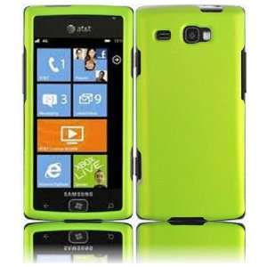 VMG Samsung Focus Flash 2 ITEM Hard Case Combo NEON GREEN