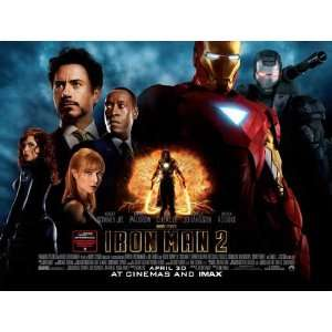 Iron Man 2 Poster 30x40 Robert Downey Jr Scarlett