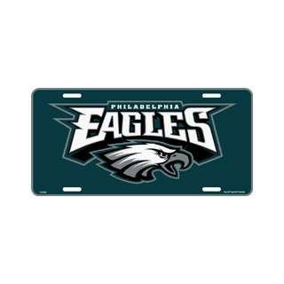 Philadelphia Eagles Metal Nfl Sport License Plate Wall