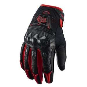 Fox Racing Red/Black Gloves