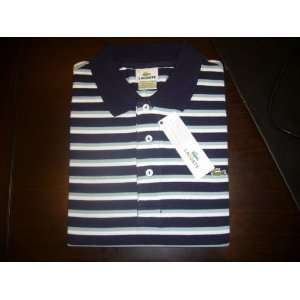 Brand New Lacoste Mens Polo Stripe Shirts