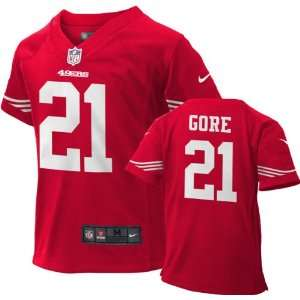 Frank Gore Kids Jersey Home Red Game Replica #21 Nike San Francisco