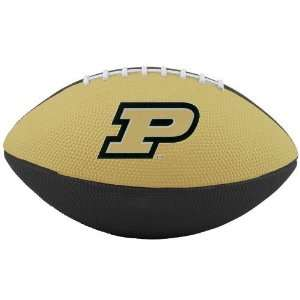 Nike Purdue Boilermakers Gold Black 10 Mini Football