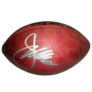 Joe Gibbs Autographed NFL Game Football