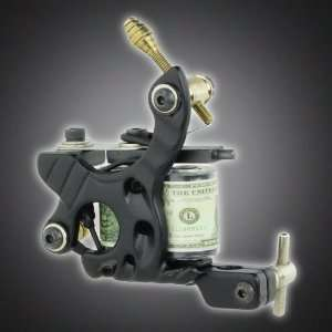 New Pro Liner Tattoo Machine Gun 10 Wrap Coils Equipment