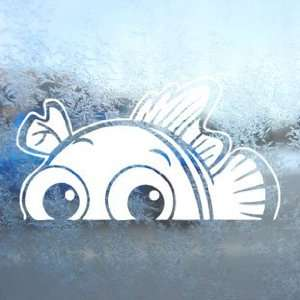 FINDING NEMO White Decal FISH DISNEY Laptop Window White