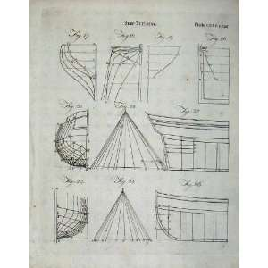 Ship Building Diagrams Encyclopaedia Britannica Drawing