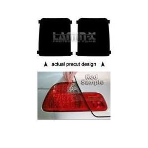 (08  ) Tail Light Vinyl Film Covers ( RED ) by Lamin x Automotive