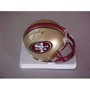 Frank Gore Hand Signed Autographed San Francisco 49ers Riddell