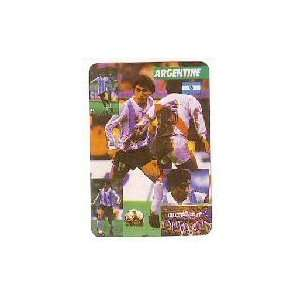 1986 World Cup Players Soccer Card Set