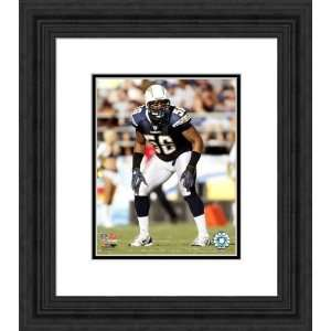 Framed Shawne Merriman San Diego Chargers Photograph