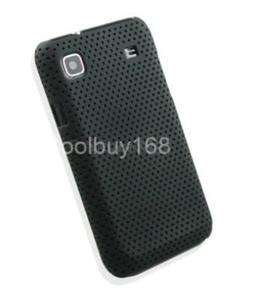 NEW BLACK HARD RUBBER CASE COVER SAMSUNG I9000 GALAXY S