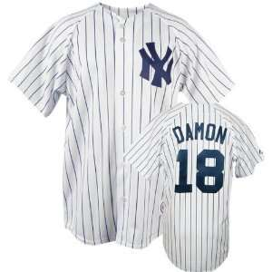 MLB Home Pinstripe Replica New York Yankees Jersey