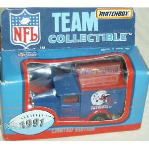 New England Patriots 1991 Matchbox/White Rose NFL Diecast Ford