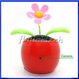 SC739 Motion Detection Mini Hidden Spy HD 720P Solar Powered Flower