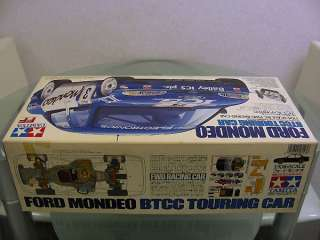 Vintage Tamiya 1/10 Ford Mondeo FF01 FWD Original Kit BOX Only Great