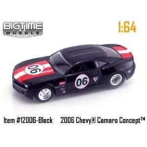 Muscle Black Racing 2006 Chevy Camaro Concept 164 Scale Die Cast Car