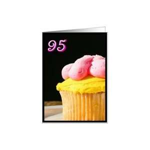 Happy 95th Birthday Muffin Card Toys & Games