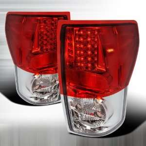 2007 2008 Toyota Tundra Led Tail Lights Red Automotive