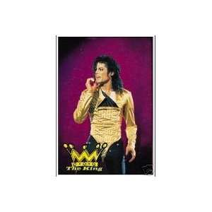 MICHAEL JACKSON 42x30 Inches Cloth Textile Fabric Poster