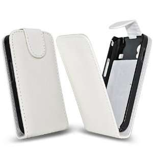 Palace  White faux leather case cover pouch for samsung galaxy i9100