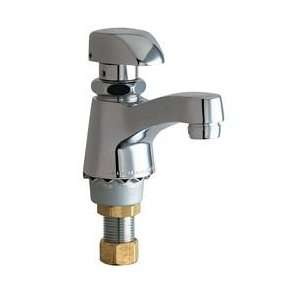 Chicago Faucets 335 E12HOTCP Single Faucet Metering