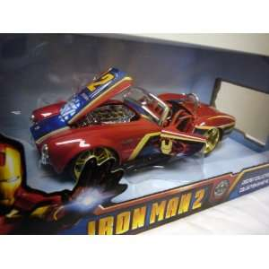 124 IRON MAN 2 SHELBY COBRA Toys & Games