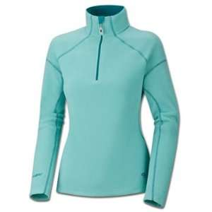 Mountain Hardwear Women s MicroChill Zip T Blue L Sports