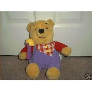Disney Winnie the Pooh ELECTRONIC TALKING Large Plush 11