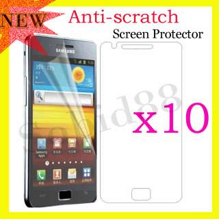 10x Clear LCD Anti Scratch Screen Film Protector For Samsung Galaxy S2