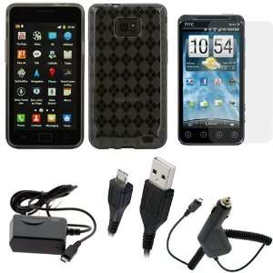 GTMax 5pc Accessory Bundle Kit for Samsung Galaxy S2 4G