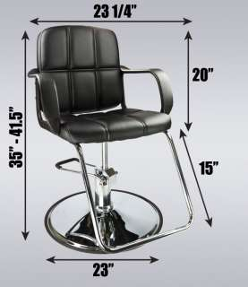 Classic Hydraulic Barber Chair Hair Styling Salon Beauty