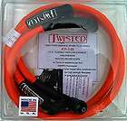 TWISTED 12mm SPARK PLUG WIRES HARLEY TOURING FLHT FLHTC ULTRA FLHTCU